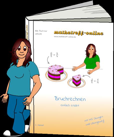 Buchcover Bruchrechnen: einfach erklärt