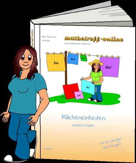 Buchcover Flächeneinheiten - einfach erklärt
