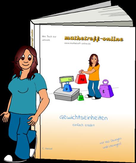 Buchcover Gewichtseinheiten - einfach erklärt